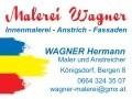 Logo: Malerei Wagner  Innenmalerei - Anstrich - Fassaden