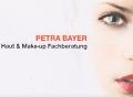 Logo: Petra Bayer  Haut & Make-up Fachberatung