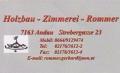 Logo: Holzbau - Zimmerei Rommer