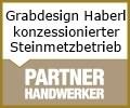 Logo Grabdesign Haberl  konzessionierter Steinmetzbetrieb