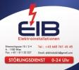 Logo: EIB Elektroinstallationen  Mustafa Balcik