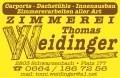 Logo Thomas Weidinger  Zimmermeister