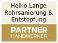 Logo Heiko Lange Rohrsanierung & Entstopfung