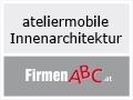 Logo: ateliermobile  Innenarchitektur