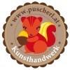 Logo s'Puscherl  Monika Schöppl  Kunsthandwerk