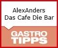 Logo AlexAnders  Das Cafe Die Bar