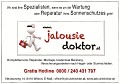 Logo: Jalousiedoktor  Inh. M�ller Wolfgang