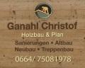 Logo Christof Ganahl Holz- und Treppenbau