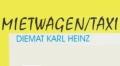 Logo: Mietwagen/Taxi  Diemat Karl Heinz
