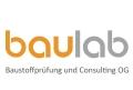 Logo baulab Baustoffprüfung und Consulting OG