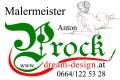 Logo Fam. Prock  Maler + Beschichtungsmeister