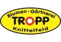 Logo Blumen - Gärtnerei  Tropp