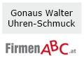 Logo Gonaus Walter  Uhren - Schmuck