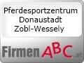 Logo Pferdesportzentrum Donaustadt  Peter Zobl-Wessely GesmbH
