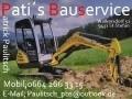 Logo Pati's Bauservice