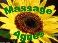 Logo Massage Agnes  A. Iovan KEG