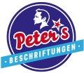 Logo Peter's Beschriftungen  Inh. Peter Heiss