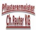 Logo: Pflasterermeister Ch. Rauter KG  Pflasterungen & Aussenanlagen