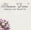 Logo: Blumen Dana  Inh. Dana Andrejic