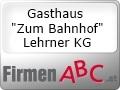 Logo: Gasthaus Zum Bahnhof  Lehrner KG