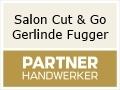Logo Salon Cut & go  Gerlinde Fugger