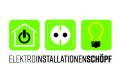 Logo Elektroinstallationen Schöpf  Inh.: Marco Schöpf