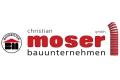 Logo: Bauunternehmen  Christian Moser GmbH