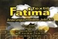Logo: Textil Fatima Änderungsschneiderei