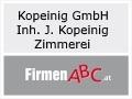 Logo: Kopeinig GmbH  Inh. Johannes Kopeinig  Zimmerei