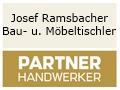 Logo: Josef Ramsbacher  Bau- u. M�beltischlerei