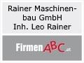 Logo: Rainer Maschinenbau GmbH  Inh. Leo Rainer