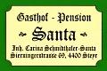 Logo: Gasthof-Pension Santa
