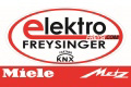 Logo: Elektro Freysinger  Inh. Werkmeister Hannes Freysinger