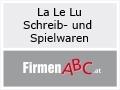 Logo: La Le Lu  Schreib- und Spielwaren