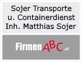 Logo: Sojer Transporte und Containerdienst  Inh. Matthias Sojer