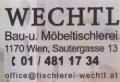 Logo: Tischlerei Wechtl