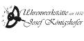Logo: Uhrenwerkstätte Josef Königshofer