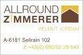 Logo Allround Zimmerer  Helmut Jordan