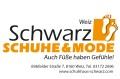 Logo: Schwarz Schuhe & Mode