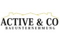 Logo: ACTIVE & CO  Bauunternehmung GmbH Baumeister
