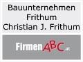 Logo Bauunternehmen Frithum  Inh. Christian Josef Frithum