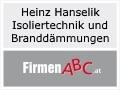 Logo Heinz Hanselik  Isoliertechnik und Branddämmungen