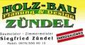 Logo: Baumeister - Zimmermeister  Siegried Z�ndel