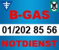 Logo B-Gas GmbH in 1220  Wien