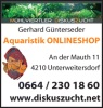 Logo: M�hlviertler Diskuszucht  Gerhard G�nterseder