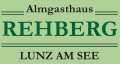 Logo Almgasthaus  Rehberg in 3293  Lunz am See