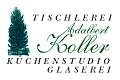 Logo: Kunstglaserei + Baum�beltischlerei  Adalbert Koller