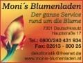 Logo Moni's Blumenladen