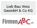 Logo: Lieb Bau Weiz GesmbH & Co KG