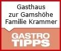 Logo Gasthaus zur Gamshöhe Familie Krammer